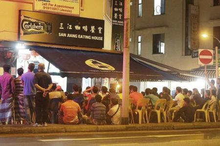 Illegal bookies in Geylang cash in on World Cup fever