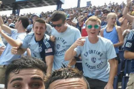 Footballer booked for selfie after scoring