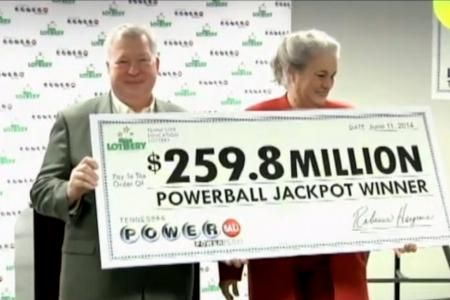 From vow of poverty to $320 million lottery winner