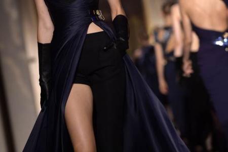Versace's dress-pants combo: Yay or nay?