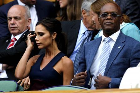 That awkward moment when Victoria Beckham met Samuel L. Jackson