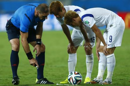 Giving vanishing spray to FIFA, for free