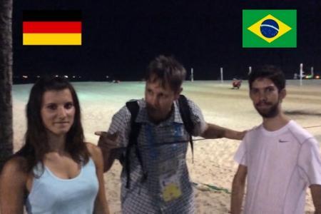 Neil in Brazil: Pick the Winner - Brazil v Germany