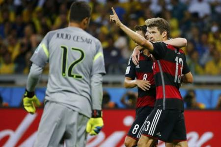 Brazil humiliated by rampaging Germans - see all the goals