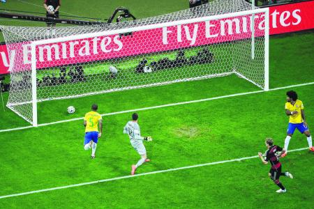 Cool Loew masterminds Germany's thumping win