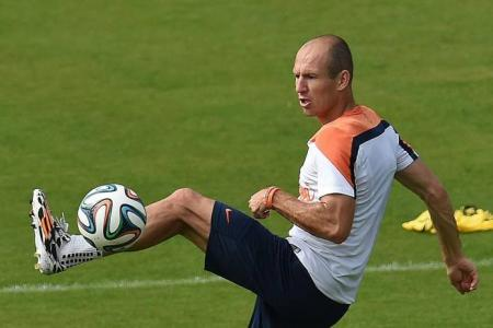 How will Argentina stop Robben?