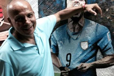 Neil in Brazil: This mural tells a thousand words
