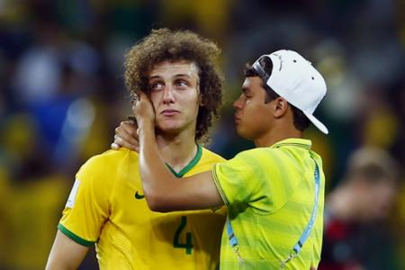 Tearful Brazil skipper Luiz apologises for defeat