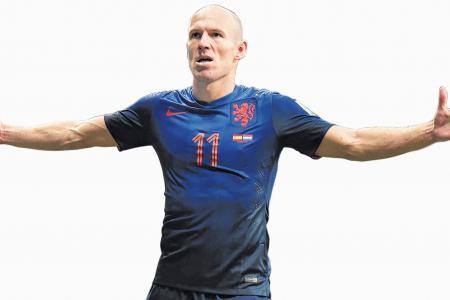 Messi v Robben -- who will triumph?