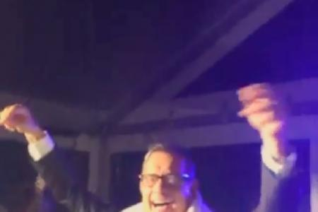 Bieber catches footage of Tom Hanks' hilarious dance moves