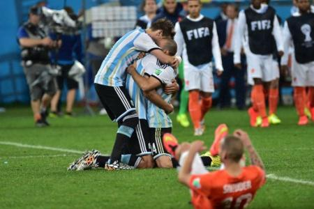 Argentina's Sergio Romero, the penalty hero