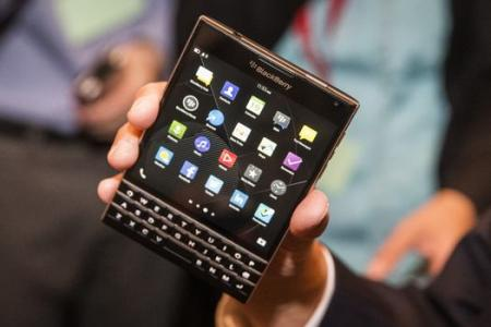 Why did BlackBerry make a square phone?