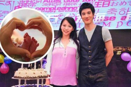 Wang Leehom welcomes his first child, a baby girl