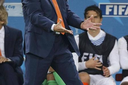 Dutch coach van Gaal feels betrayed