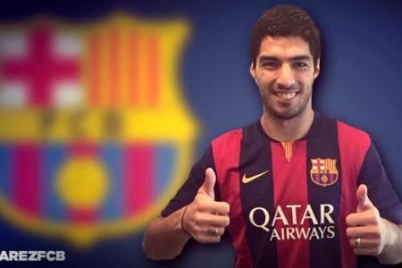 Done deal! Disgraced Suarez joins Barca