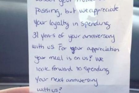 Look what eatery staff did for widow