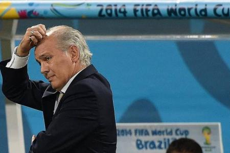 Sabella to step down as Argentina coach after final