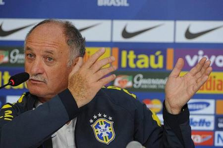 Brazil federation president-elect: Scolari should stay