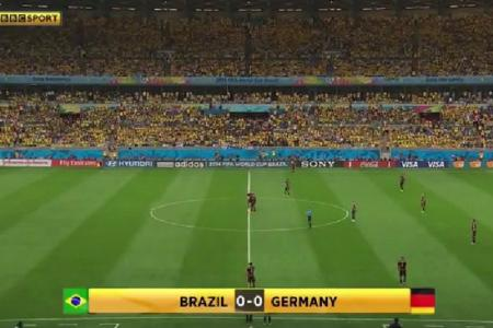 You didn't turn up! Brazil airbrushed out of 7-1 thrashing