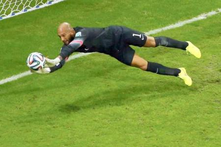 No way - Tim Howard isn't shortlisted for the Golden Glove