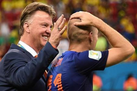 Van Gaal to Robben: You're welcome at Man United