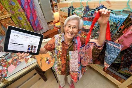 Cool grandma runs her own blogshop