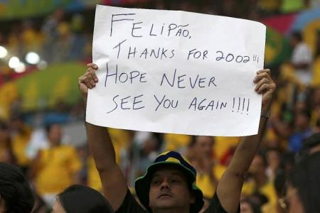 Scolari must pay the price for failure