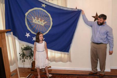 Father claims a kingdom so his daughter can be a real princess
