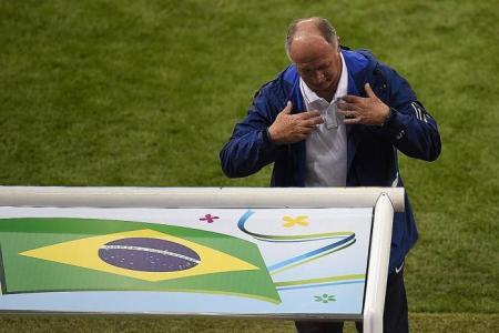 Update: Brazil fires Scolari as national football coach