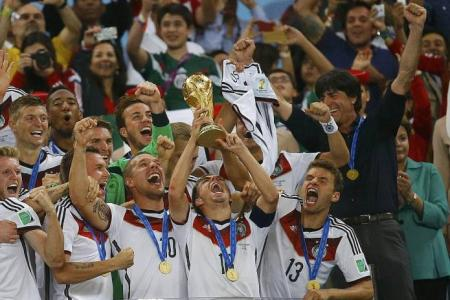 Teamwork is the secret to Germany's success