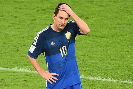 Another World Cup, another heartbreak for Messi