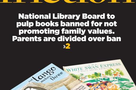 Authors of banned book upset with NLB decision
