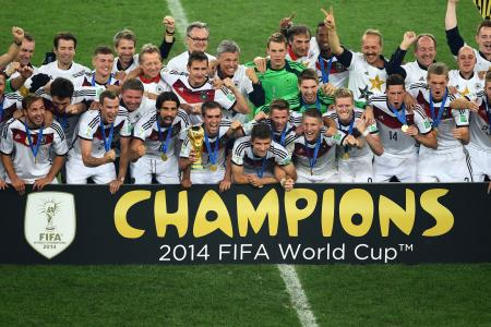 History-makers Germany are deserving winners