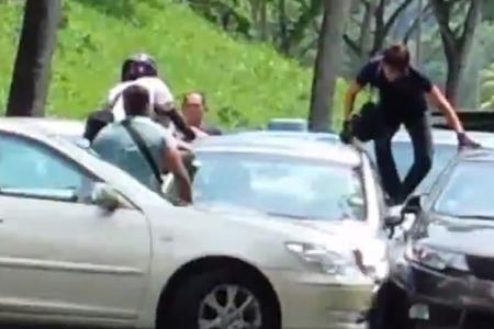 Drug suspect's dramatic arrest captured on video