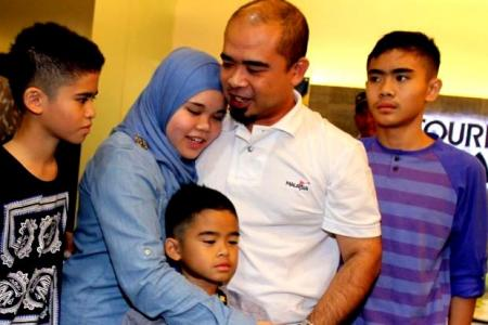 M'sian jailed in Sweden child abuse case reunites with kids