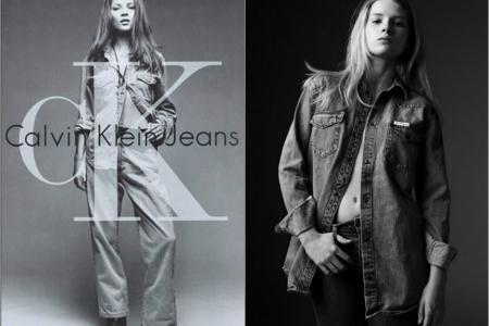 Kate Moss' baby sister, Lottie, fills her CK jeans