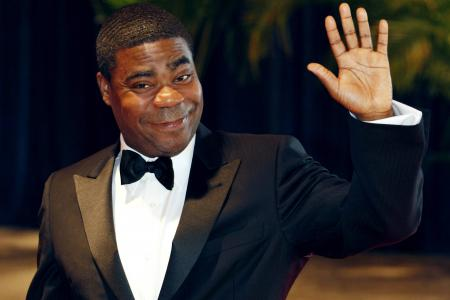 Tracy Morgan looking good in first sighting after accident