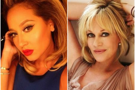 Adrienne Bailon and Melanie Griffith both have tattoo regrets