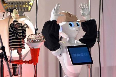 Meet the world's funniest robot