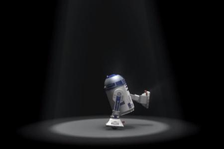 Too cute: R2D2 dances to Michael Jackson songs