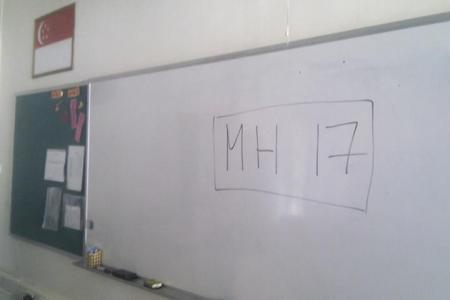 S'porean teacher uses MH17 to teach students a valuable lesson