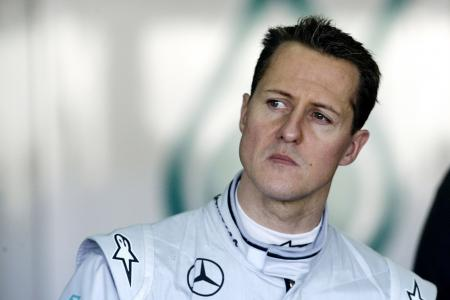 Schumacher's wife thanks fans for support