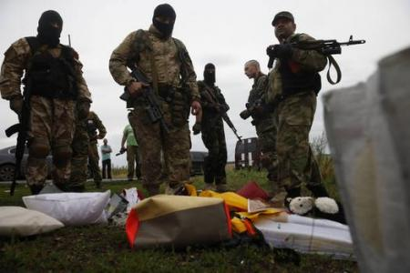 Kiev accusing rebels of destroying MH17 crash evidence