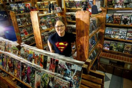 Last of comic book stores standing strong