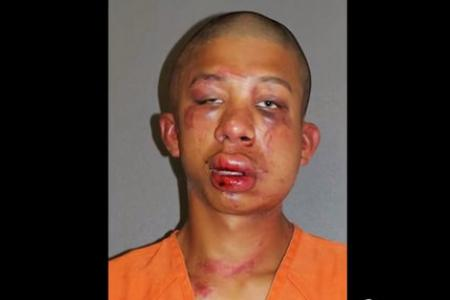 Father beats up son's molester