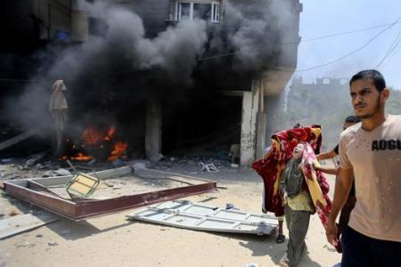 Bloody Sunday on the Gaza strip