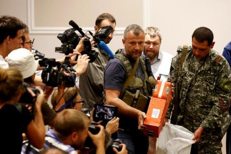 MH17 black boxes in hands of M'sia team