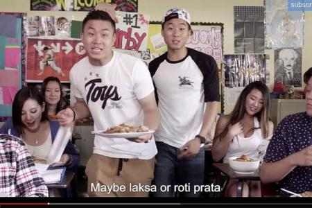 US duo's rap on S'pore food goes viral