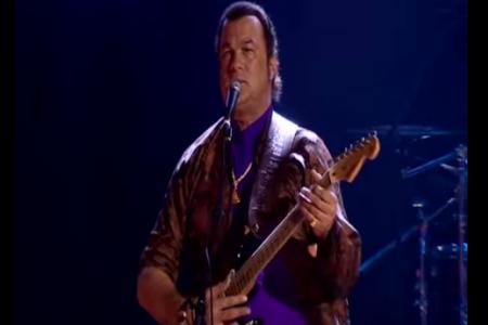 Steven Seagal dropped from music festival. Blame his support for Putin