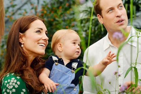 Prince George turns 1 today